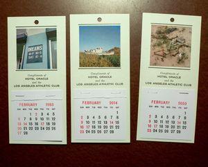 Souvenir calendars, 2014 © Jason Fulford