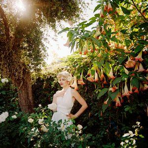 Ashley as Marilyn Monroe, Covina, CA, 2013.