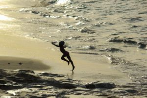 The Girl Dancing With The Sea