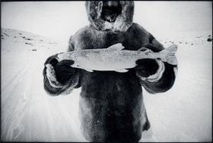 © David Carol, Joe with Fish, Baffin Island. Honorable Mention, LensCulture International Exposure Awards 2010