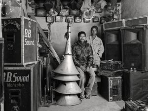 SOUND-AND-LIGHT MEN, $17 WEEKLY, 2013 © Supranav Dash