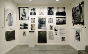 Gallery exhibition, seine 51, Paris, photo by Luca Battaglia