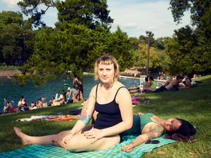 Barton Springs Pool, Austin, 2016