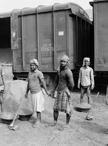 Day laborers in Sahibganj.  Jharkhand 2017