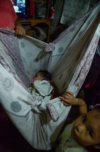 Jocelyn's baby daughter, Payatas