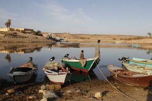 Fishing in Abu Simbel
