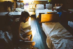 Valentin, 1972. Diagnosis: MDR TB + HIV. Feodosia TB hospital, Crimea,  July 2012.
