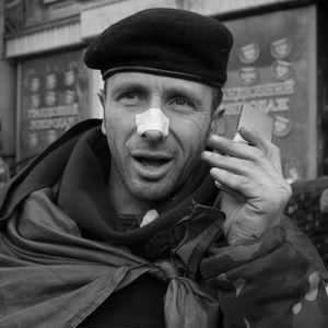 Ukraine Revolution, Kiev, February 2014 © Alfred Yaghobzadeh