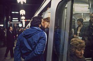 Parting Kiss © Bob Mazzer