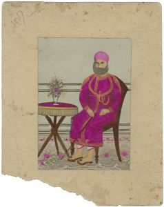 Silver gelatin print with hand-tinting and overpainting, India, c1920. © amc2
