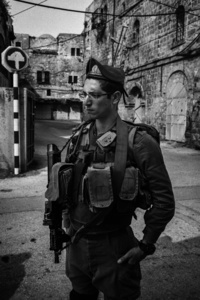 Abu Arish checkpoint in the H2 area of Hebron.A Palestinian young man, Sa'ad Al-Atrash, was shot dead at this checkpoint by an Israeli soldier on October 26, 2015.