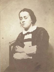 Nadar (Gaspard Felix Tournachon), Ernestine, 1854-1855. Courtesy Pace/MacGill Gallery, New York
