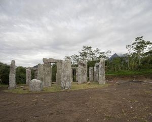 """Stonehenge"", Kepuharjo village, Yogyakarta"