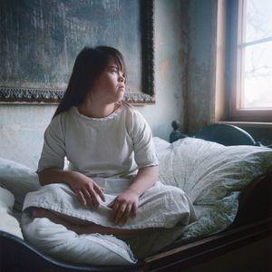 Sofie in her room