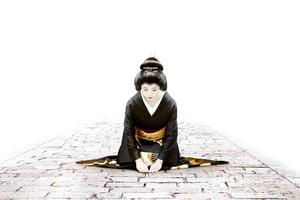 Geishas. C-prints on Kodak Endura Premier. 165 x 247cm, from digital dataface-mounted behind 4mm plexiglass