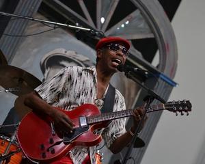 "Walter ""Wolfman"" Washington, JazzFest 2016, New Orleans"