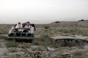Today's Life and War, 2008. This series interrogates the Iran-Iraq War and its heritage, which influences all aspects of contemporary Iranian society.