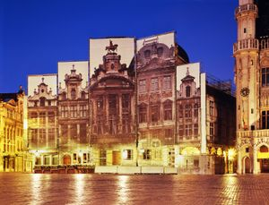 La Grand-Place, 178 x 243cm, 2012, Chromogenic Print