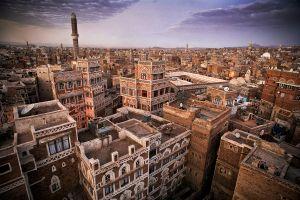 Sana'a, Yemen: Historical old town of Sana'a, a Unesco World Heritage site. © Matjaz Krivic
