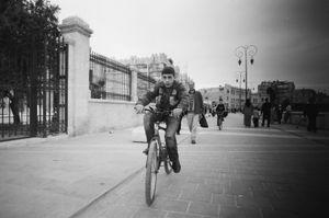 Cycling Boy, 2010 © Clara Abi Nader
