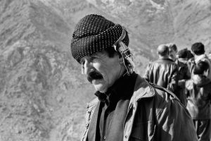 A kurd man with his traditional custome.