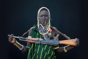 Mursi Women // Kalashnikov // Omo Valley
