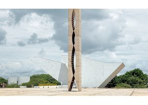Pantheon of the Nation and Dovecot, Plaza of the Three Powers, Brasília, 2012.