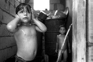 Bathtime, Bourj El Shamali Camp, Tyre Lebanon 2005