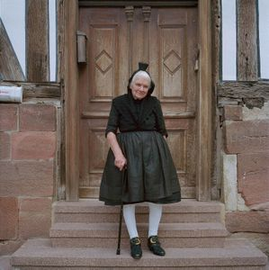 Anna Katharina Ochs, Schwalm, Hesse, 2014. From the series: The last women in their traditional peasant garbs
