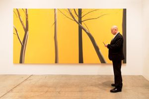 Peter Blum, Art Basel Miami Beach 2010  Artist: Alex Katz © Andy Freeberg