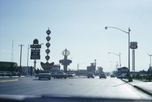 Las Vegas strip, 1966. Courtesy of the artists and Venturi, Scott Brown and Associates, Inc., Philadelphia
