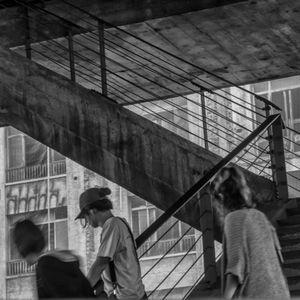 Down the steps of MASP