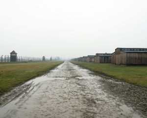 Camp Road in Auschwitz-Birkenau, Auschwitz-Birkenau Memorial and Museum
