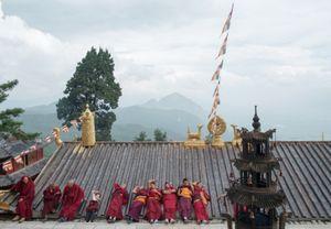 The Monks, Lijiang, Yunnan, China.