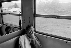 """On the Train to Tamatave."" 1993"