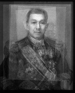All the Prime Ministers of the Empire of Japan – Shōwa period (1926 – 1947). C-print, 2008. © Alejandro Almaraz