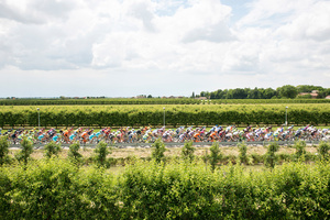 Stage: Emilia Romagna. The first 130 km of this stage, across the famed Po Valley, are mercifully flat.