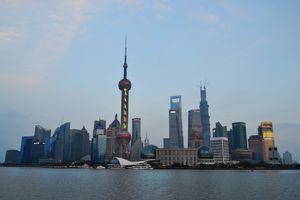 Shanghai Skyline (Color)