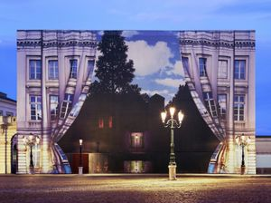 Light of Magritte, 176 x 236cm, 2009, Chromogenic Print