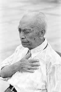 Remembering: Admiral Fang, aged 96, Qingdao, Shandong Province © Kate Shortt