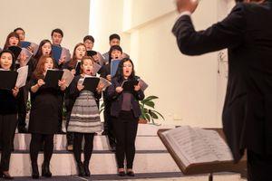 The Choir of the Korean Evangelical Church in Quadraro, southeast Rome.