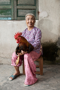 Huynh Thi Duy, farmer and poultry keeper