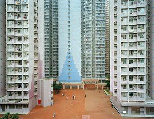 Urban Renewal #6, Apartment Complex, Jiangjunao, Hong Kong, 2004 © Edward Burtynsky