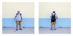 Man, Rockaway Beach