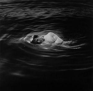 self portrait in water