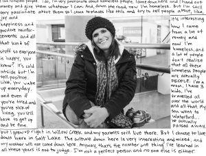 I Love Homeless People