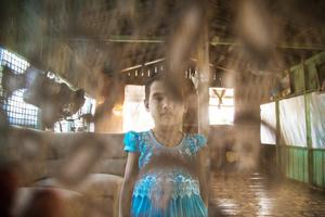 Daughter of Moe Min Aung.