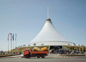 Khan Shatyr Mall, Astana, 2012