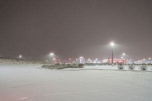 Parking lot near Teterboro Airport