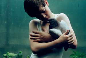 Jack Crowley with dove, 1969 © Will McBride, Bertrand Grimont